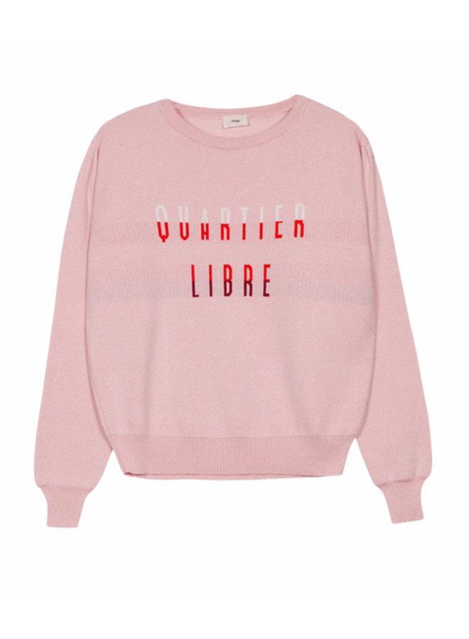 AG.LETOMO Sweater Quatier Libre