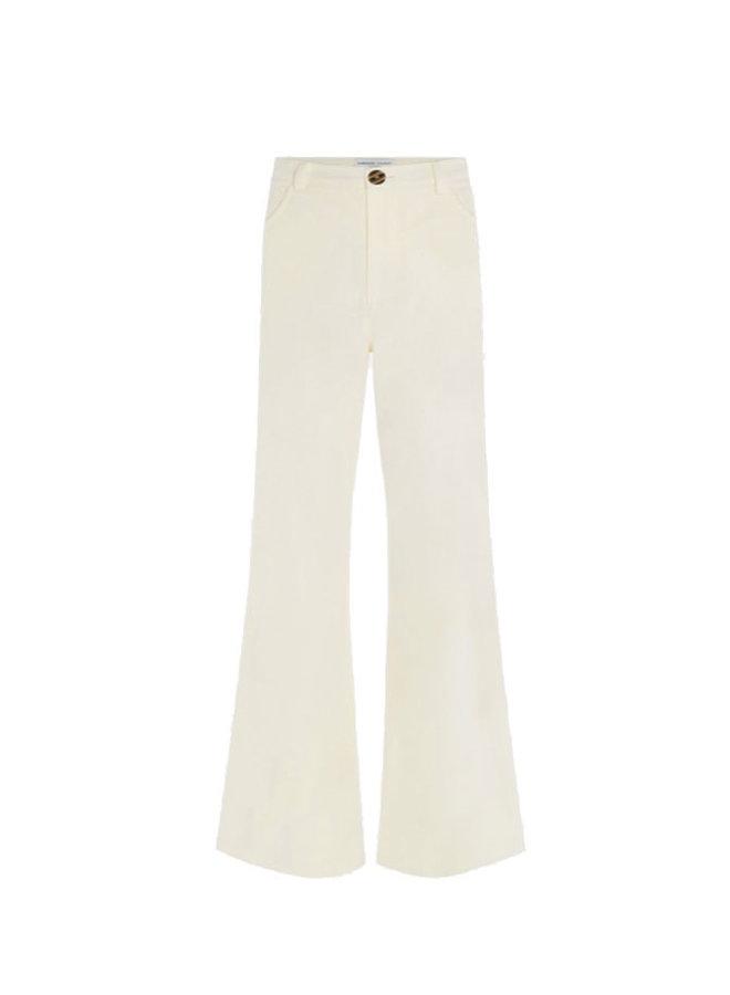 Sofi Trousers Cream White - Fabienne Chapot