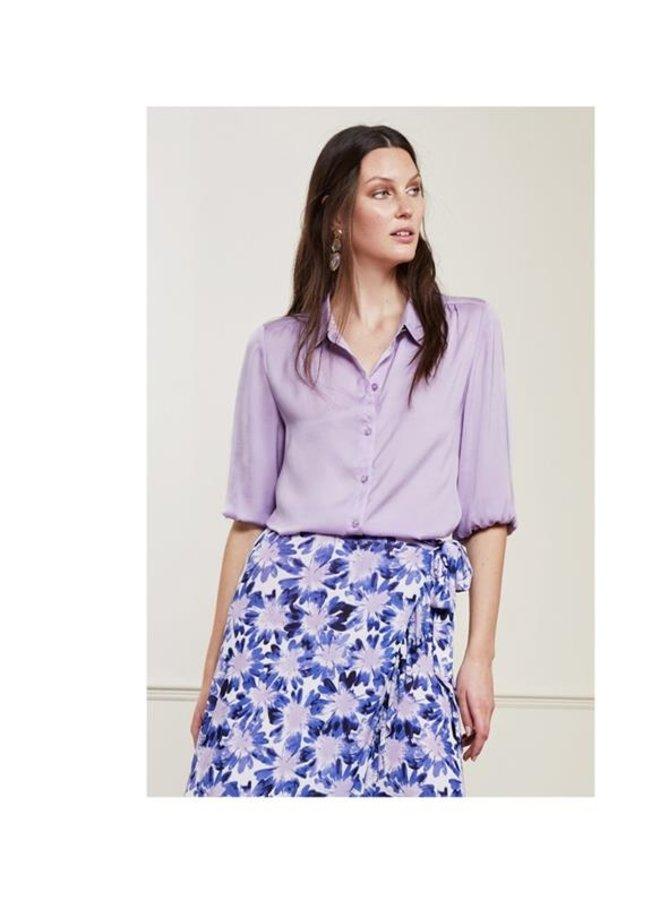 Mira Short Blouse Lilac UNI - Fabienne Chapot