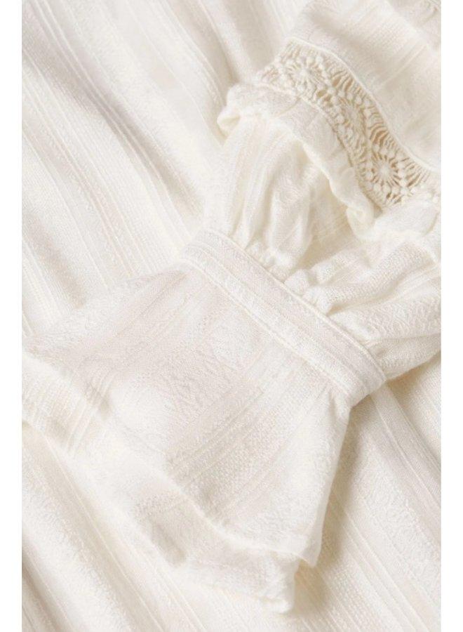 Leo Dress Cream White - Fabienne Chapot
