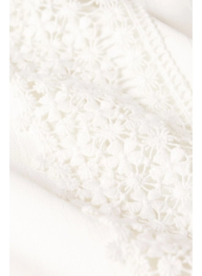 Donna Top Cream White - Fabienne Chapot