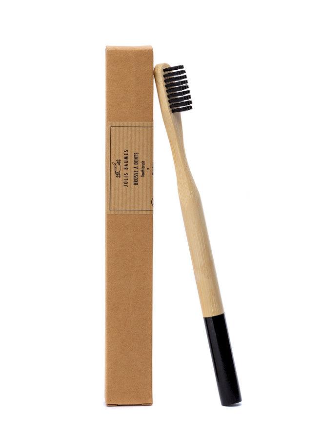 Bamboe tandenborstel met ronde handgreep