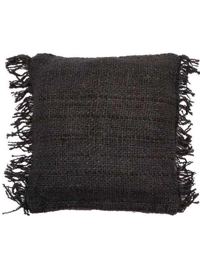 Oh My Gee Cushion - Black/ Navy/ Brown