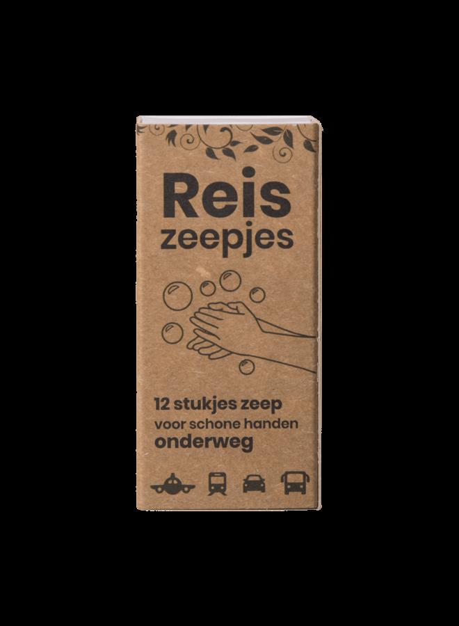 Happy Mini Reis- en Toiletzeepjes (12 stuks) -  HappySoaps