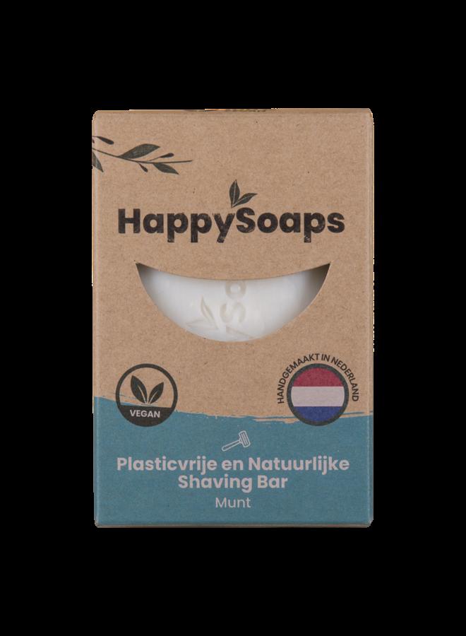 Happy Shaving Bar Munt - Happy Soaps
