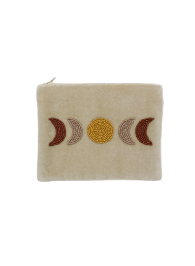 Velvet pouch moon phase - A la Collection