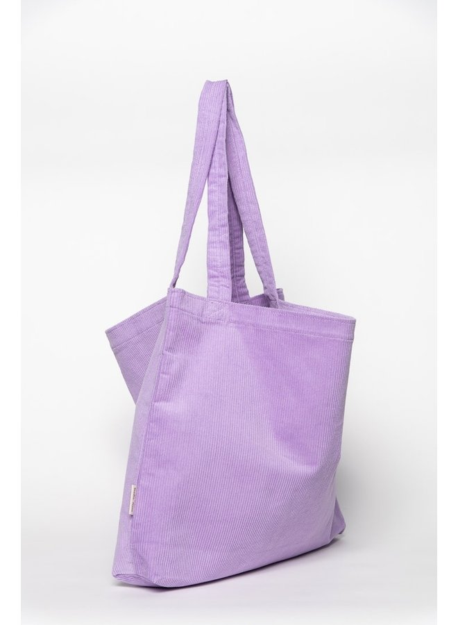 Lilac rib mom-bag - Studio Noos