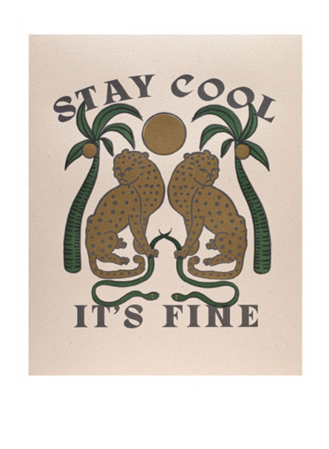 PP07- Print - Stay Cool - The Archivist Gallery
