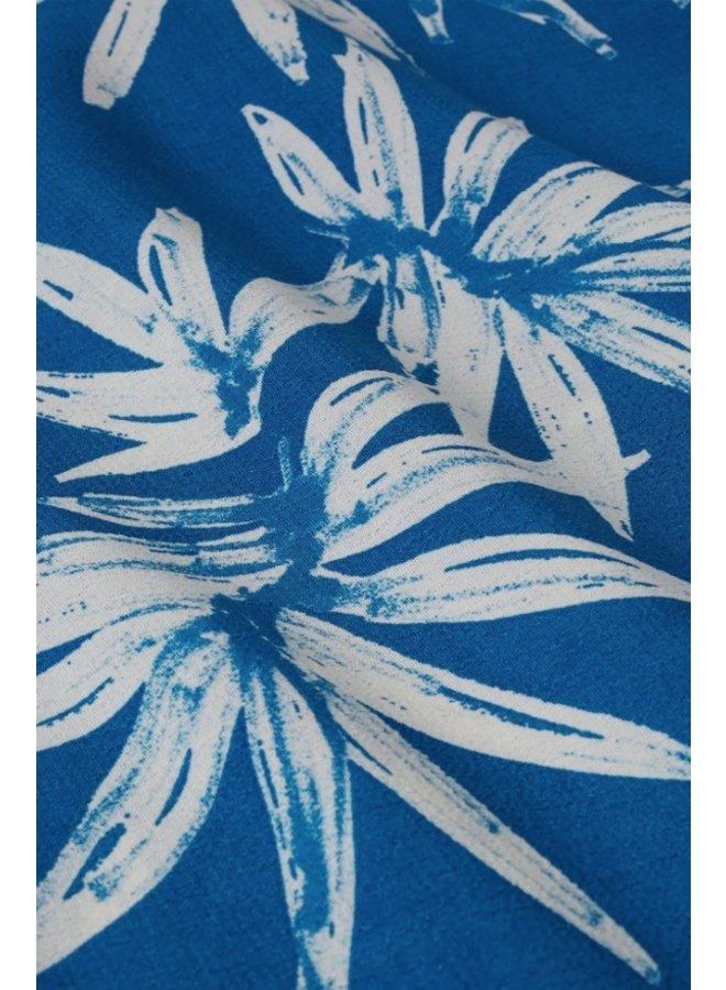 Lora Top Artisan Blue Cream - Fabienne Chapot