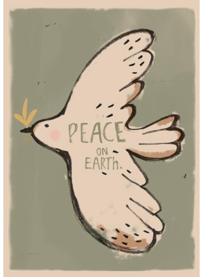 Peace Bird Wallposter
