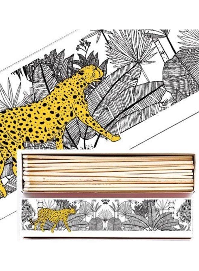 Matches BX32 - Cheetah in White Jungle - Archivist