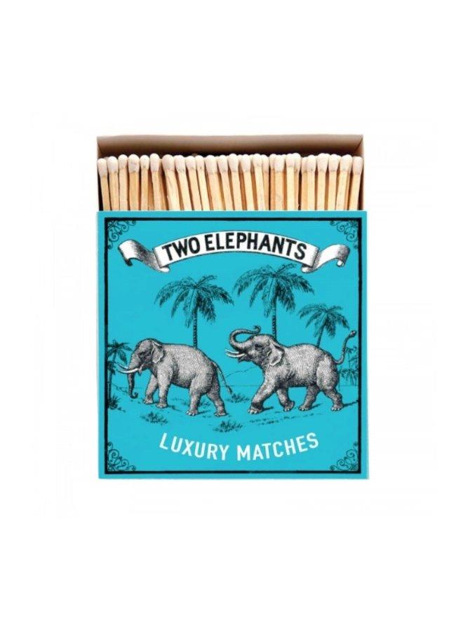 Matches B172 - Two Elephants - Archivist