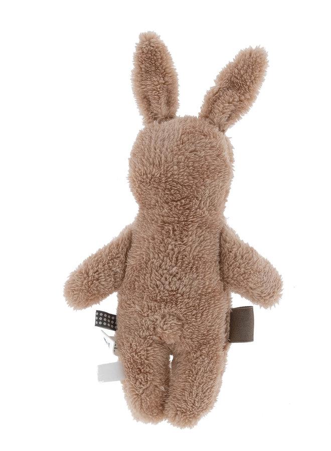 Organic Romy Rabbit cuddle - milky rust