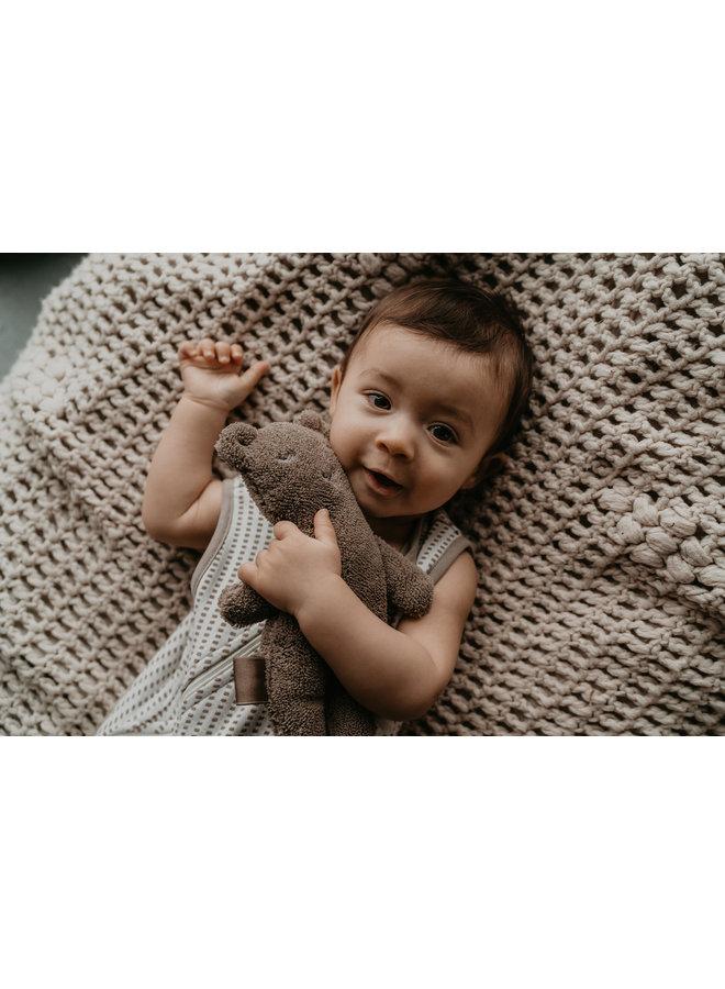 Organic Billy Bear Cuddle - Warm Brown