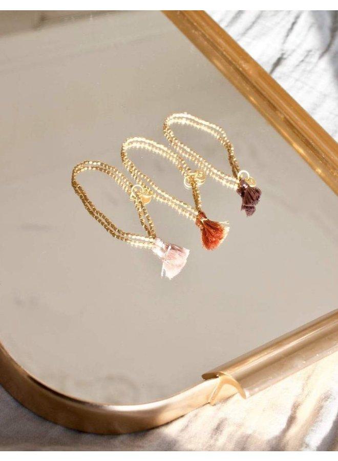 Good luck bracelet cream -  A la Collection