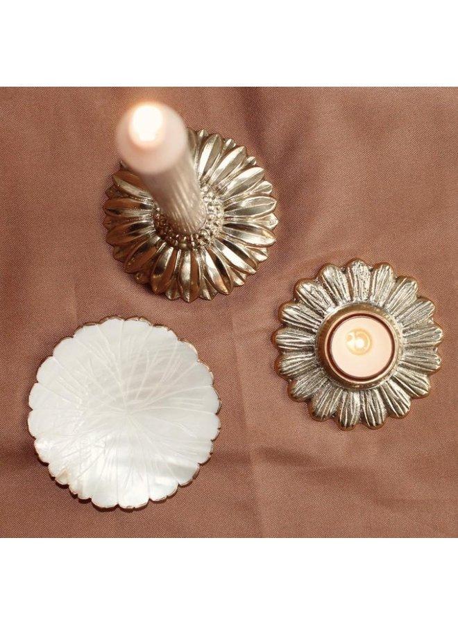 Daisy tealight holder -  A la Collection