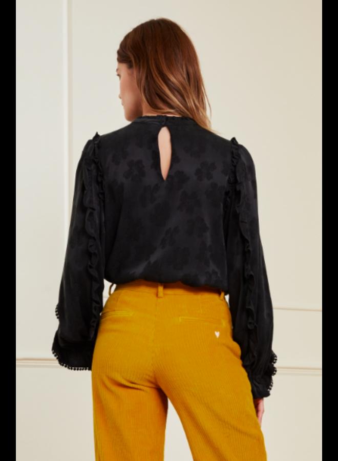 Josefin Tess Top Black - Fabienne Chapot