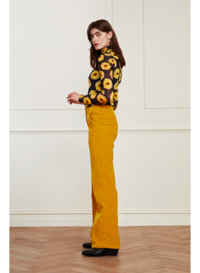 Elodie Trousers Saffron  - Fabienne Chapot