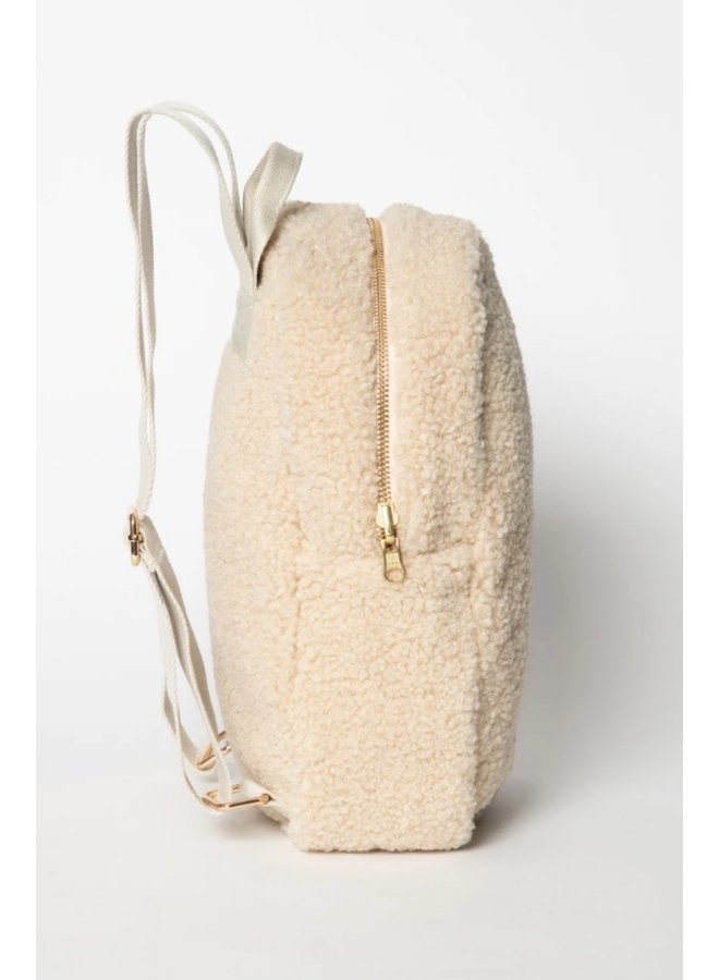 Ecru noos mini chunky backpack - Studio NOOS