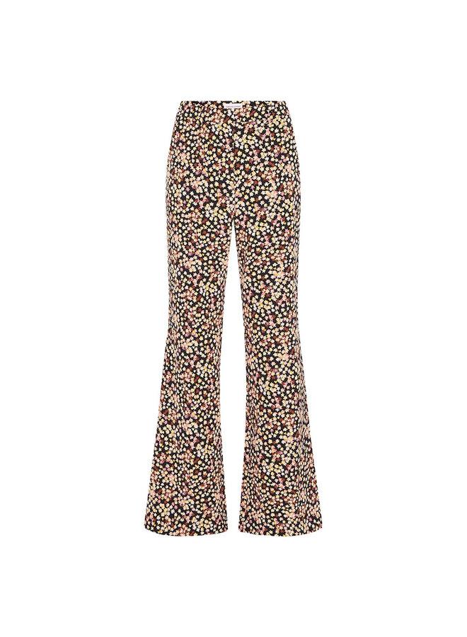 Puck Trousers Black Lovely Pink Confetti - Fabienne Chapot