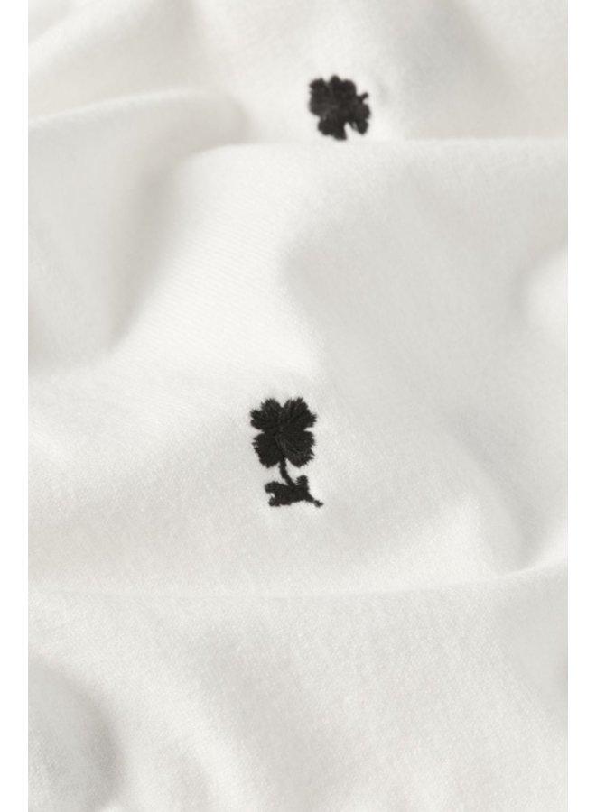 Molly Embro Pullover Cream White/ Black - Fabienne Chapot