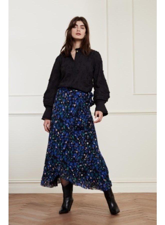 Bobo Frill Skirt Black/Mint Underclover - Fabienne Chapot
