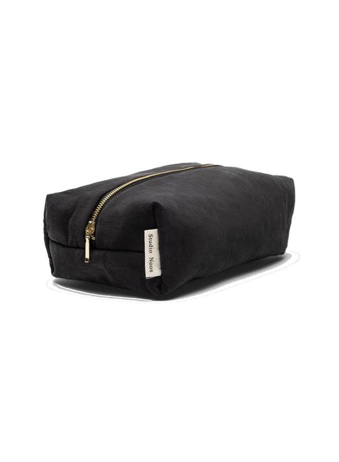 Puffed pouch black - Studio NOOS