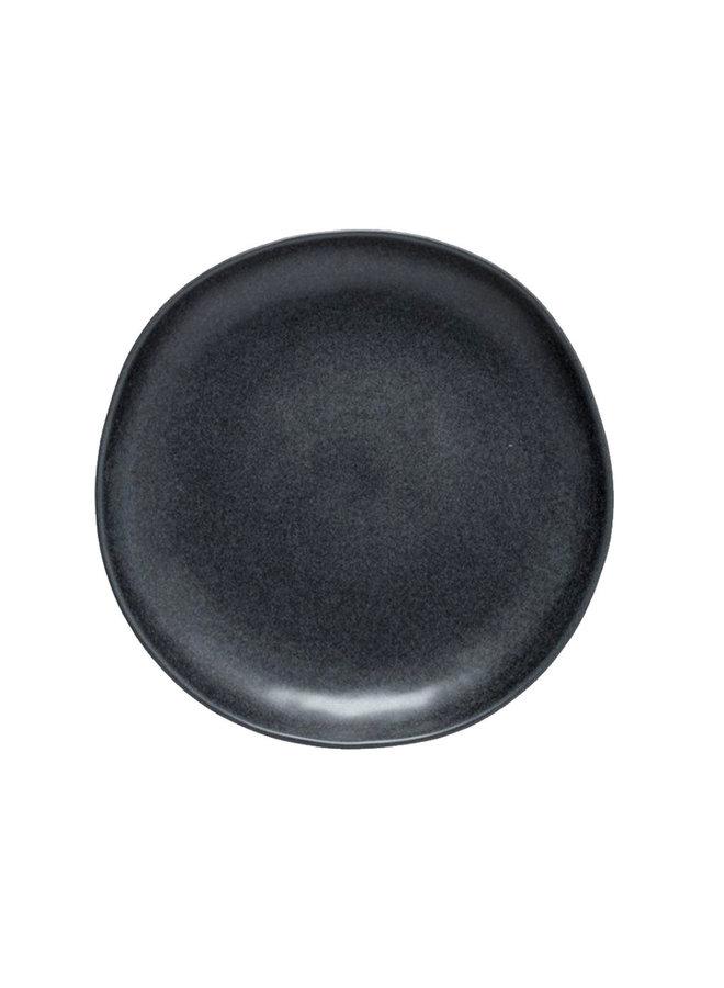 Dinerbord Livia mat zwart