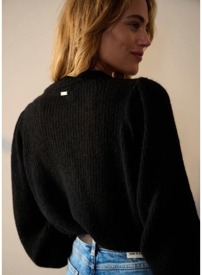 Pullover Marie Black - Pom Amsterdam