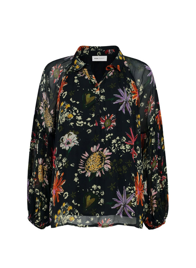 Top Flower Love Black - Pom Amsterdam