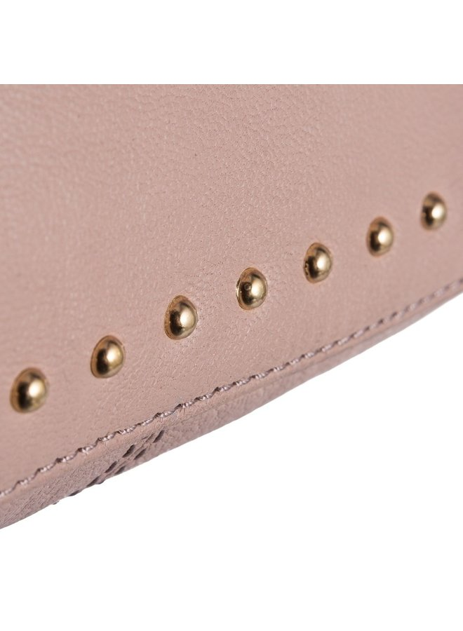 Cross Over bag with gold studs