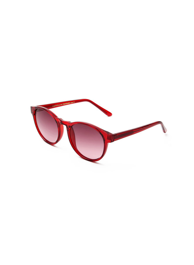 Marvin Sunglasses - Red Transparent