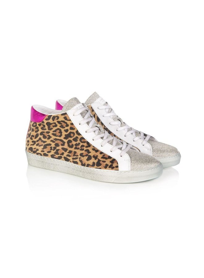 ALTO High Top - Leopard & Pink