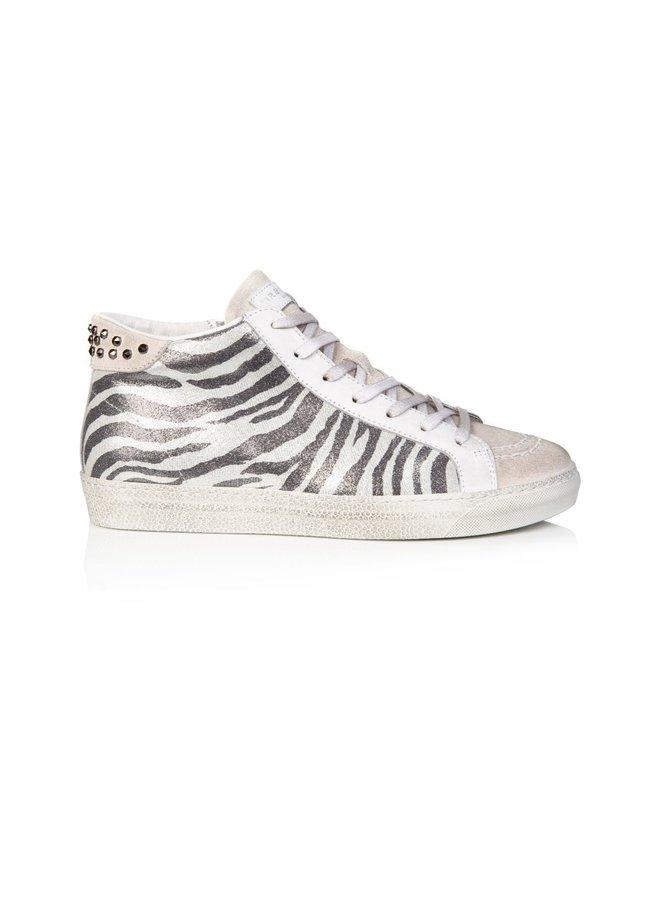 ALTO High Top - Zebra silver