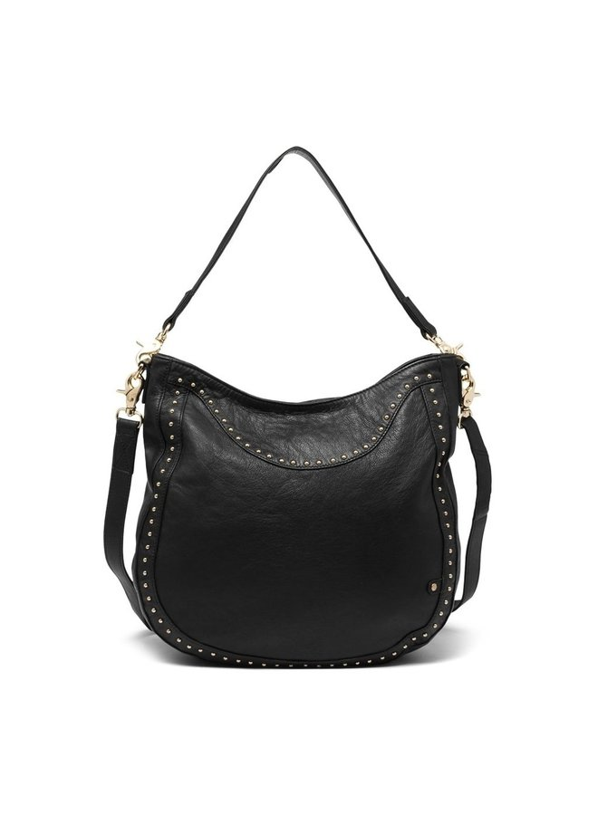 Large Bag with gold stud edge