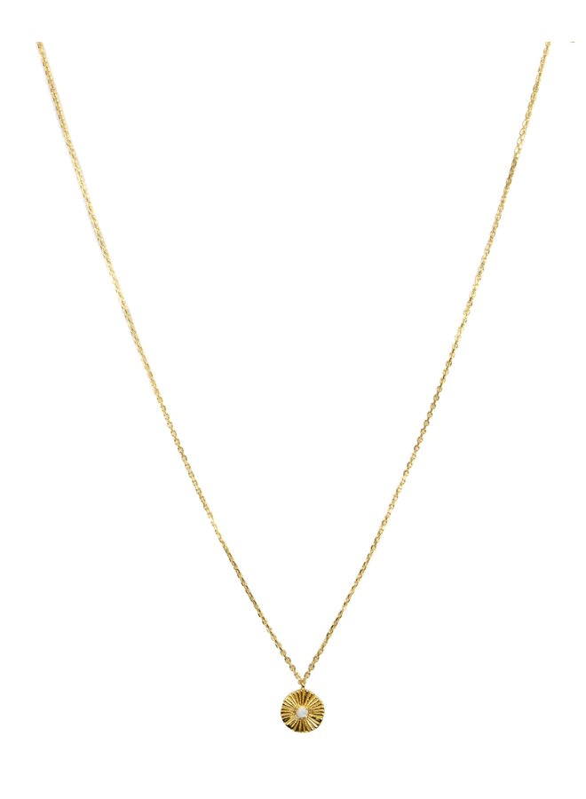 S05032G Gold Daria Necklace