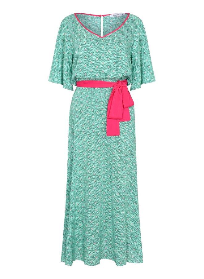 Midi V Jojo Dress