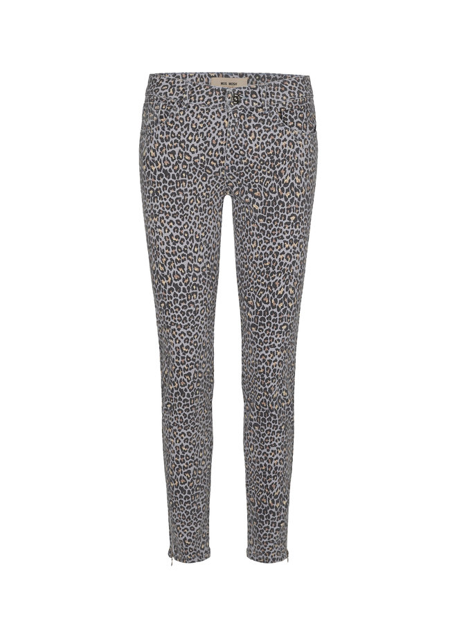 Victoria Leopard Jeans