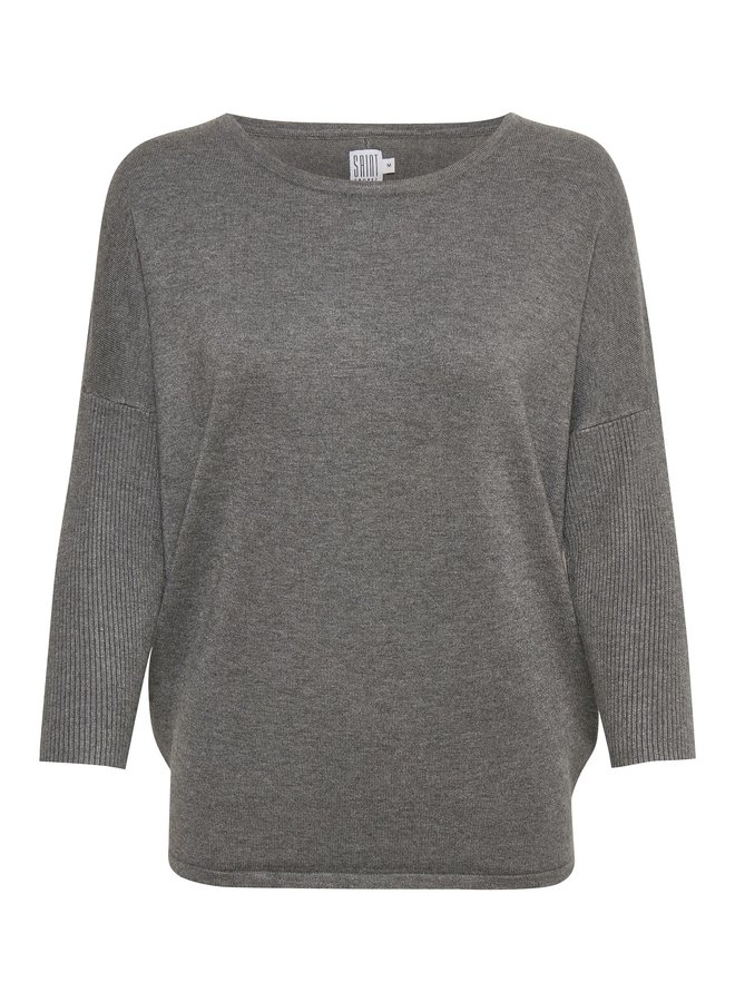 Jumper with Rib Sleeve