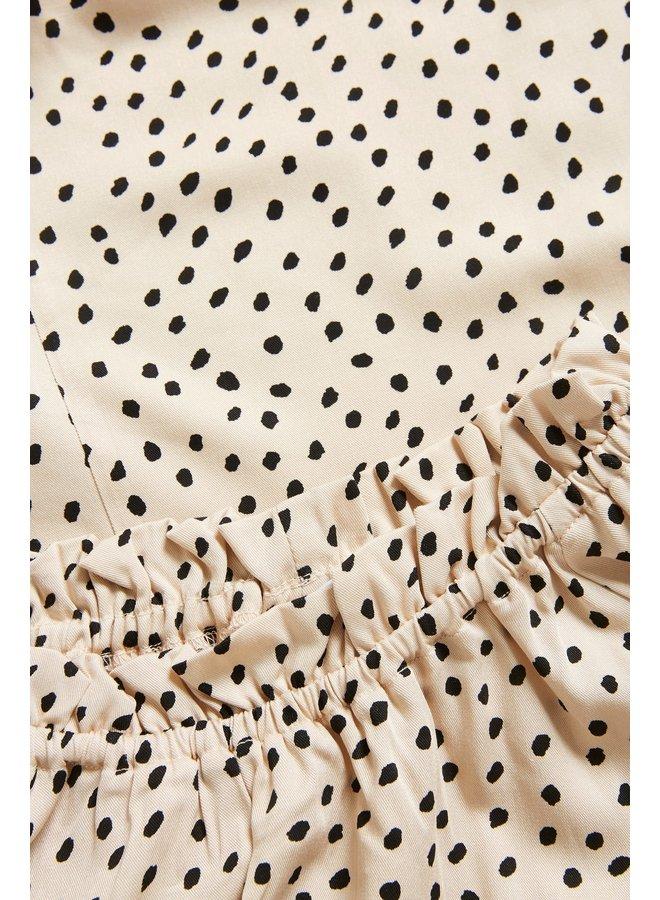 Drea Dot Print Blouse