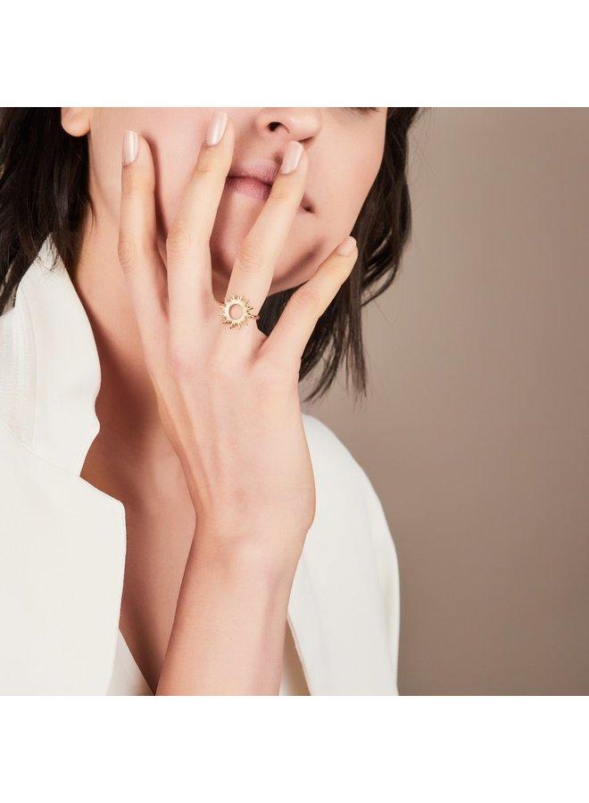 Gold Sunrays Ring
