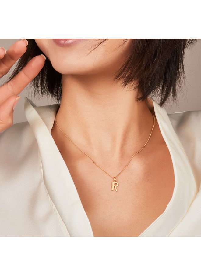 This is me necklace 22 carat - Gold R