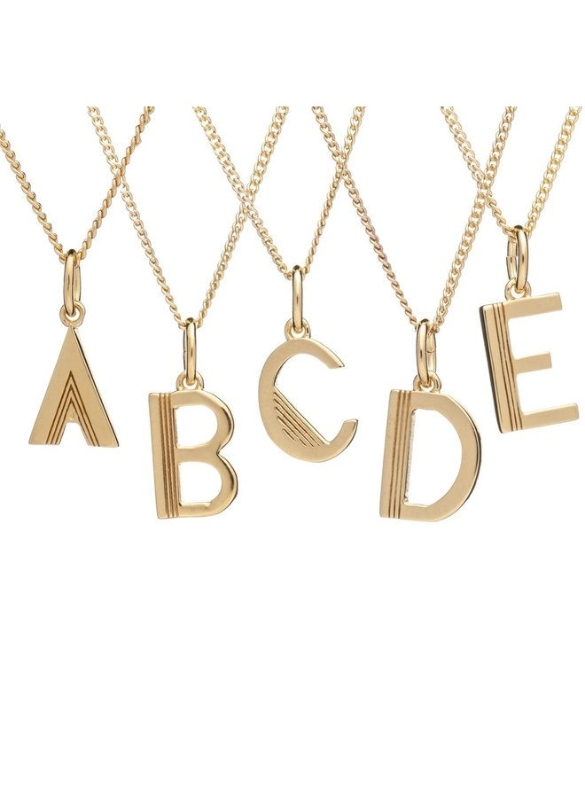 This is me necklace 22 carat - Gold C