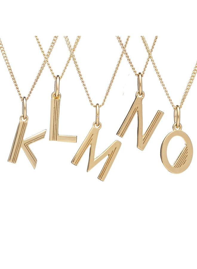 This is me necklace 22 carat - Gold J