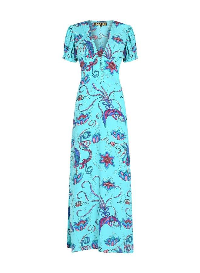 Evelyn bird tea dress