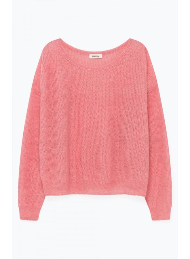 Ribbed slouch knit