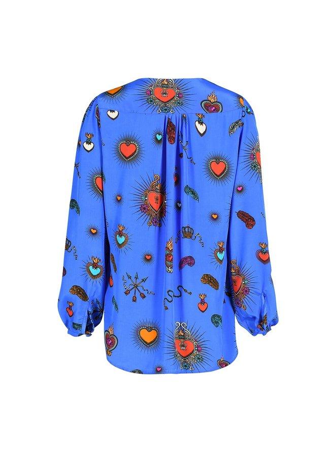 Betty heart blouse