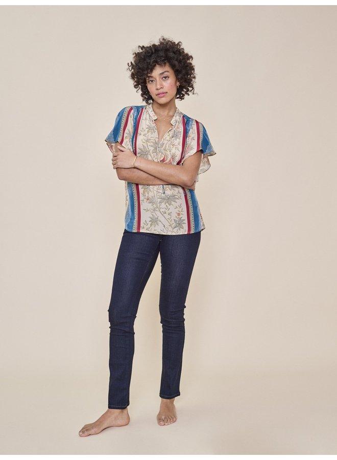 Athena Regular Jeans - Dk Blue