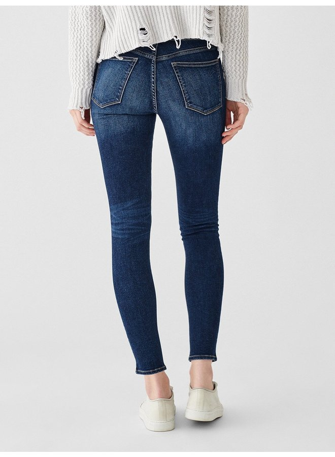 Florence Mid Rise Ankle Skinny - Write