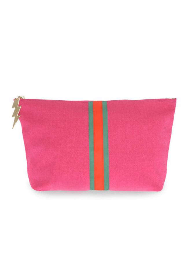Large bag with fluro stripe